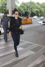 Kangana Ranaut leaves for Luknow for the HT Summit on 25th Sept 2015