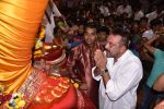 Sanjay Dutt and Ajay Devgan snapped at Lalbaug Ka Raja on 25th Sept 2015