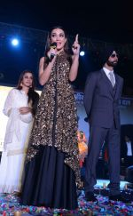 Akshay Kumar, Amy Jackson at Singh is Bling promotions in Delhi on 27th Sept 2015