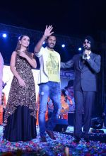 Akshay Kumar, Amy Jackson, Prabhu Deva at Singh is Bling promotions in Delhi on 27th Sept 2015