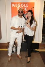 Ali Quli (of Big Boss fame) & Claudia Ciesla at the Muscle Talk Gymnasium launch in Chembur_5608c653c0f15.JPG