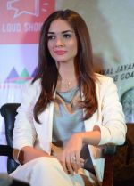 Amy Jackson at Singh is Bling press meet in Delhi on 28th Sept 2015