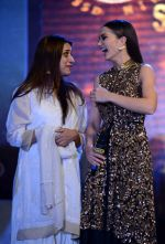 Amy Jackson at Singh is Bling promotions in Delhi on 27th Sept 2015