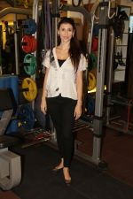 Claudia Ciesla at the Muscle Talk Gymnasium launch in Chembur.1