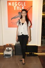 Claudia Ciesla at the Muscle Talk Gymnasium launch in Chembur