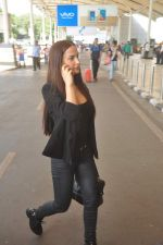 Elli Avram snapped at domestic airport on 27th Sept 2015