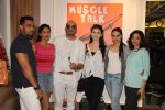 Nasir (Owner), Bhairavi Goswami, Ali Quli (of Big Boss fame), Claudia Ciesla, Miss India Gail Nicole Da Silva & Shalini at the Muscle Talk Gymnasium launch in Chembur._5608c673b288c.JPG