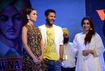 Prabhu Deva, Amy Jackson at Singh is Bling promotions in Delhi on 27th Sept 2015