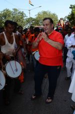 Rajiv Kapoor at rk studios ganpati Visarjan on 26th Sept 2015