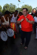 Rajiv Kapoor at rk studios ganpati Visarjan on 26th Sept 2015 (8)_5608c9d12f8df.JPG