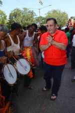 Rajiv Kapoor at rk studios ganpati Visarjan on 26th Sept 2015 (9)_5608c9d70cb01.JPG