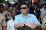 Rishi Kapoor at rk studios ganpati Visarjan on 26th Sept 2015