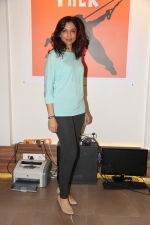 Shalini at the Muscle Talk Gymnasium launch in Chembur.