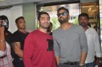 Sunil Shetty at U and Me salon opening in Santacruz on 27th Sept 2015
