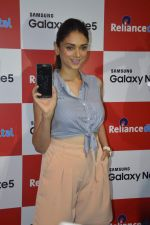 Aditi Rao Hydari at samsung note 5 launch in delhi on 29th Sept 2015