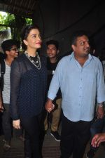 Aishwarya Rai Bachchan, Sanjay Gupta promotes Jazbaa at mithibai college on 29th Sept 2015