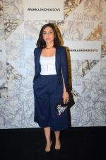 Amrita Puri at Koovs Pankaj Nidhi launch in Cafe Zoye on 29th Sept 2015