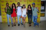 Kartik Aaryan, Omkar Kapoor, Sunny Singh Nijjar, Sonali Sehgall, Nushrat Barucha and Ishita Sharma promote Pyaar Ka Punchnama at Radio Mirchi Studio on 30th Sept 2015 (22)_560bf17214a3d.JPG