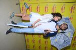 Kartik Aaryan, Omkar Kapoor, Sunny Singh Nijjar, Sonali Sehgall, Nushrat Barucha and Ishita Sharma promote Pyaar Ka Punchnama at Radio Mirchi Studio on 30th Sept 2015 (30)_560bf188a530e.JPG