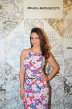 Nauheed Cyrusi at Koovs Pankaj Nidhi launch in Cafe Zoye on 29th Sept 2015