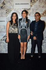 Sapna Pabbi at Koovs Pankaj Nidhi launch in Cafe Zoye on 29th Sept 2015