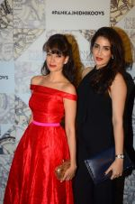 Vidya Malvade, Sagarika Ghatge at Koovs Pankaj Nidhi launch in Cafe Zoye on 29th Sept 2015 (96)_560b9032669a3.JPG