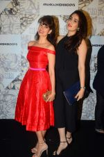 Vidya Malvade, Sagarika Ghatge at Koovs Pankaj Nidhi launch in Cafe Zoye on 29th Sept 2015