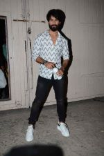Shahid Kapoor snapped at Mehboob studios on 30th Sept 2015