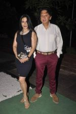 Aarti Surendranath, Kailash Surendranath at Soda Bottle Opener Wala restaurant launch on 1st Oct 2015