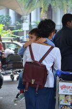 Kiran Rao snapped with son on 4th Oct 2015