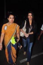 Aishwarya Rai Bachchan return from delhi on 5th Oct 2015