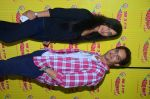 Jimmy Shergill and Mahie Gill at Radio Mirchi studio to promote their Punjabi film SHAREEK on 5th Oct 2015