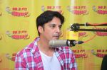 Jimmy Shergill at Radio Mirchi studio to promote their Punjabi film SHAREEK on 5th Oct 2015