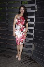Rashmi Nigam at Glenfiddich dinner in Mumbai on 5th Oct 2015