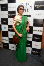 Konkona Sen Sharma on day 1 of Amazon india fashion week on 7th Oct 2015,1