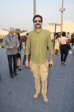 Milind Gunaji on day 1 of Amazon india fashion week on 7th Oct 2015,1