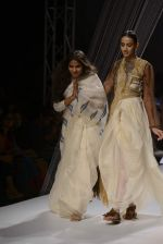 Model walk the ramp for Vaishali S show on day 1 of mazon india fashion week on 7th Oct 2015
