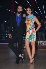 Alia Bhatt, Shahid Kapoor at Jhalak dikhhla jaa reloaded grand finale shoot in Filmistan on 7th Oct 2015