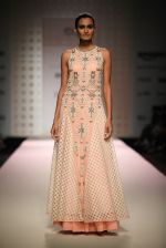 Model walk the ramp for Kavita Bhartia on day 1 of Amazon india fashion week on 7th Oct 2015