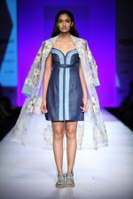 Model walk the ramp for Not so serious by Pallavi Mohan show on day 2 of Amazon india fashion week on 8th Oct 2015
