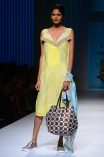 Model walk the ramp for Rasa Jaipur show on day 2 of Amazon india fashion week on 8th Oct 2015