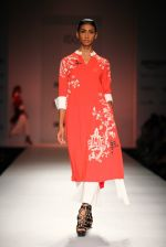 Model walk the ramp for Vineet Bahl on day 1 of Amazon india fashion week on 7th Oct 2015