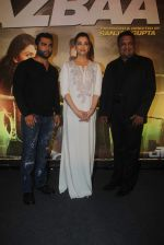 Aishwarya Rai Bachchan, Sashiin Joshi, Sanjay Gupta at Jazbaa premiere on 8th Oct 2015