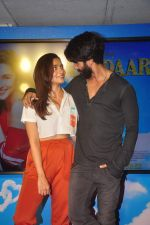 Alia Bhatt, Shahid Kapoor at Shaandaar song launch on 8th Oct 2015