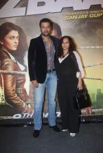 Rohit Roy, Manasi Joshi Roy at Jazbaa premiere on 8th Oct 2015