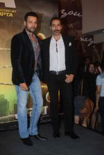 Rohit Roy, Sudhanshu Pandey at Jazbaa premiere on 8th Oct 2015