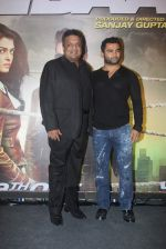 Sanjay Gupta, Sachiin Joshi at Jazbaa premiere on 8th Oct 2015