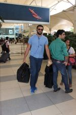 Arunoday Singh snapped at the airport on 9th Oct 2015
