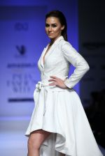 Lauren Gottlieb walk the ramp for Nikhita Show at Amazon Fashion Week Day 3 on 9th Oct 2015