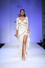 Model walk the ramp for Nikhita Show at Amazon Fashion Week Day 3 on 9th Oct 2015